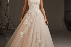 blush-princess-wedding-dress-with-open-back-A1551