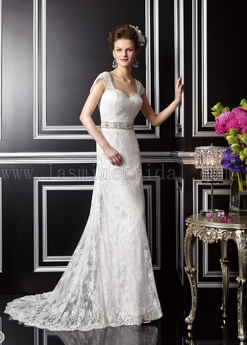 empire line style wedding dress Wexford Eden Manor Bridal