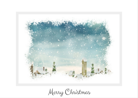 Merry Christmas from Eden Manor Bridal.