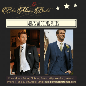 Men's Wedding Suits in Ireland