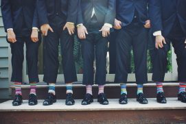 details bring groomsmen together
