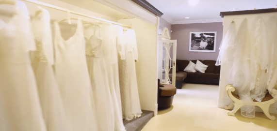 Wedding dress shop, Ireland