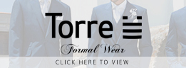 Torre Formal Mens Wear at Eden Manor Bridal Wexford